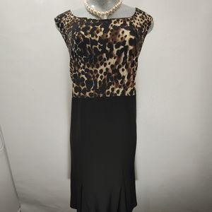 Kim Sleeveless Empire Dress Size 16W